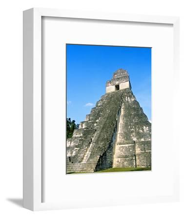 Temple I, The Great Plaza, Tikal National Park, Peten, Guatemala