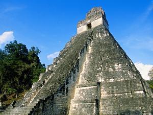 Temple I, The Great Plaza, Tikal National Park, Peten, Guatemala by Blaine Harrington
