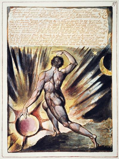 Blake: Jerusalem, 1804-William Blake-Giclee Print