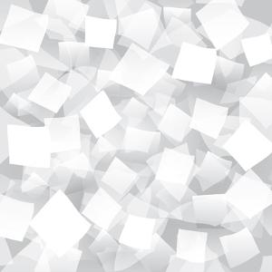 White Abstract Background With Geometrical Objects by Blan-k