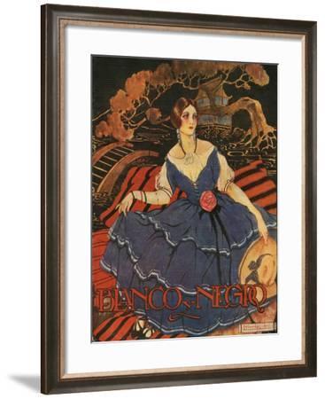 Blanco y Negro, Magazine Cover, Spain, 1922--Framed Giclee Print