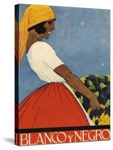 Blanco y Negro, Magazine Cover, Spain, 1923