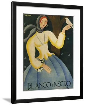 Blanco y Negro, Magazine Cover, Spain, 1930--Framed Giclee Print