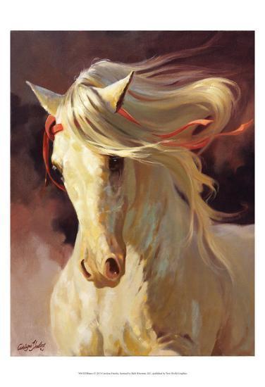 Blanco-Carolyne Hawley-Art Print