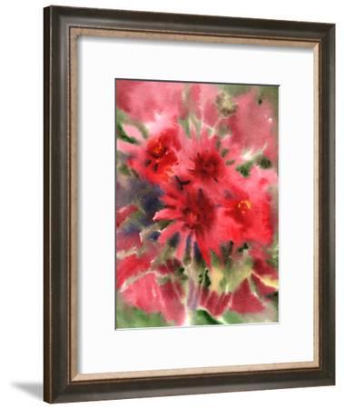 Blanket Flowers 2-Suren Nersisyan-Framed Art Print