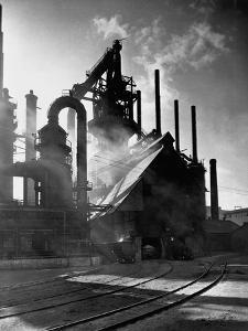 Blast Furnance at the Bethlehem Steel Works in Pennsylvania