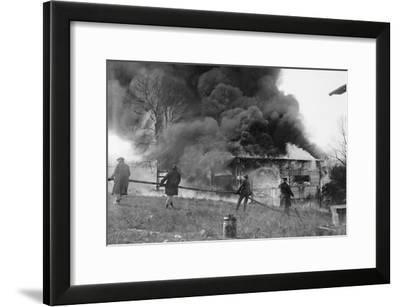Blaze at Camp Leech--Framed Art Print