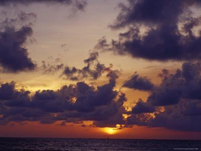 Blazing Red and Orange Tropical Storm Clouds at Sunset-Jason Edwards-Photographic Print
