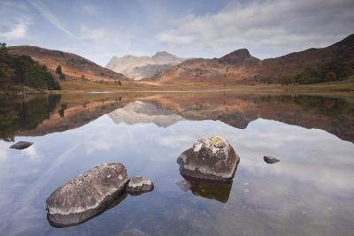 Blea Tarn and the Langdale Pikes.-Julian Elliott Photography-Photographic Print