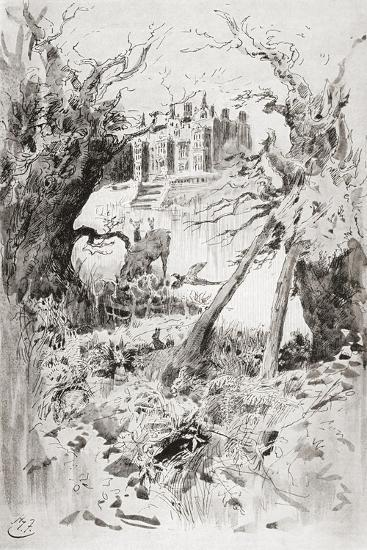 Bleak House. Illustration by Harry Furniss for the Charles Dickens Novel Bleak House--Giclee Print