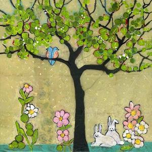 Bunny Tree by Blenda Tyvoll