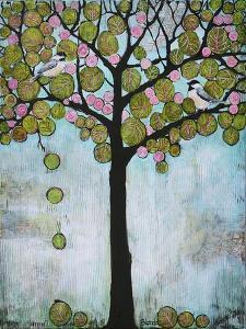 Chickadee Tree 2 by Blenda Tyvoll