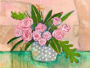 Evelyn Rose Flowers by Blenda Tyvoll
