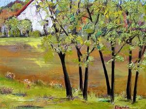 Hill House by Blenda Tyvoll
