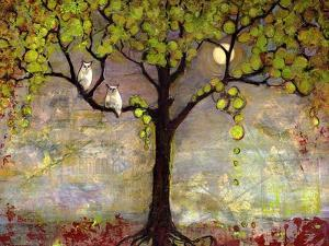 Moon River Tree by Blenda Tyvoll