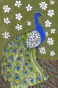 Penelope B Peacock by Blenda Tyvoll