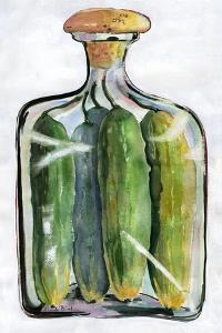Pickle Jar Painting by Blenda Tyvoll