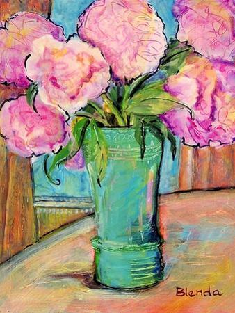 Pink Peonies by Blenda Tyvoll