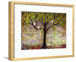 Print with Owls Moon River Tree by Blenda Tyvoll