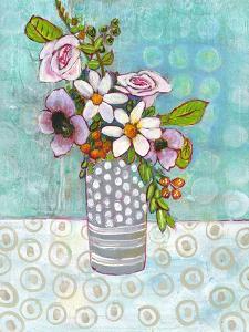 Sophia Daisy Flowers by Blenda Tyvoll