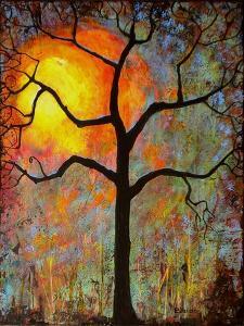 Sunrise Sunset Tree by Blenda Tyvoll