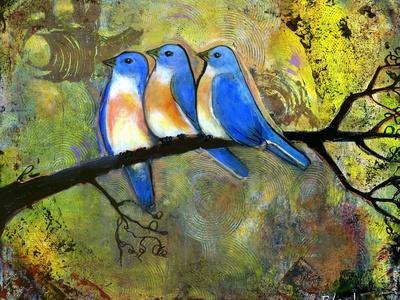 Three Little Bluebirds