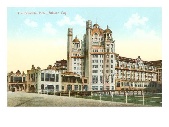 Blenheim Hotel, Atlantic City, New Jersey--Art Print
