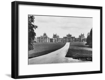 Blenheim Palace, Woodstock, Oxfordshire, Early 20th Century