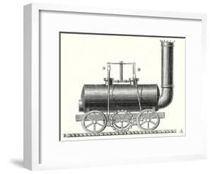 Blenkinsop's Toothed Rack Locomotive