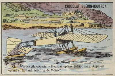 Bleriot Floatplane, 1913--Giclee Print