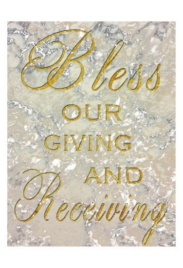 Bless Our Giving-Sheldon Lewis-Art Print