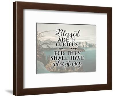Blessed are the Curious-Tara Moss-Framed Art Print