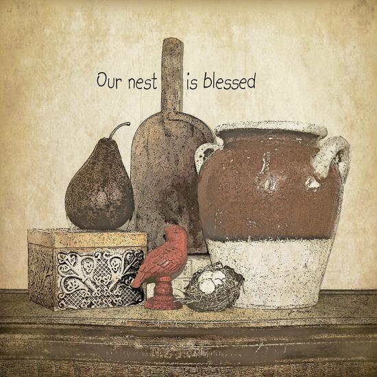 Blessed Nest-Jo Moulton-Art Print