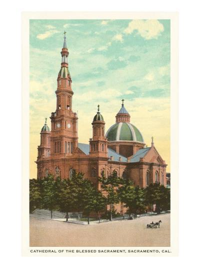 Blessed Sacrament Cathedral, Sacramento--Art Print