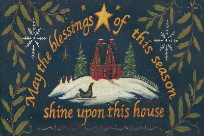 Blessings of the Season-Jo Moulton-Art Print