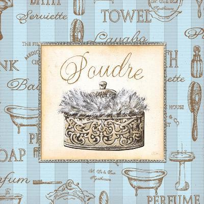 Bleu Beaute Feminine IV-Charlene Audrey-Art Print