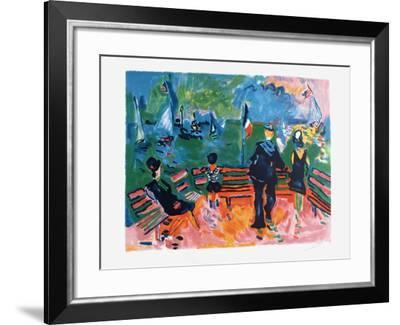 Bleu blanc rouge-Jean-claude Picot-Framed Limited Edition
