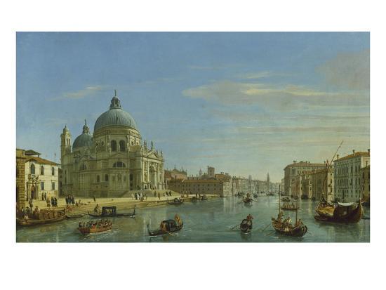 Blick Auf Sta.Maria Della Salute in Venedig, 1706-Gaspar van Wittel-Giclee Print