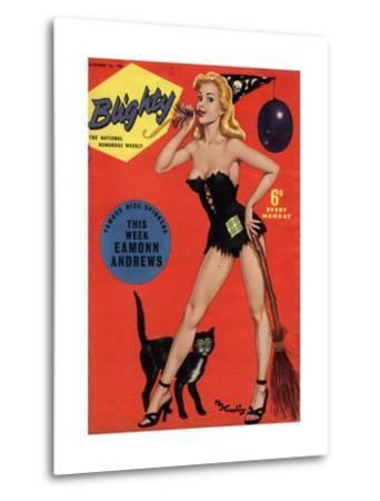 Blighty, Glamour Pin-Ups Models Halloween Magazine, UK, 1958