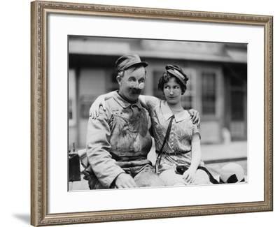 Blind Date--Framed Photo