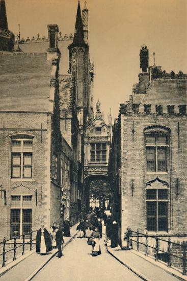 'Blind Donkey Street', c1910-Unknown-Photographic Print