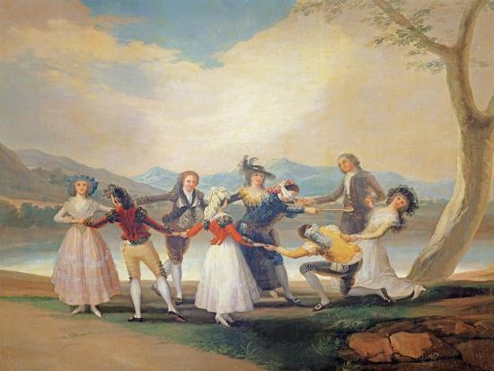 Blind Man's Buff, 1788-9-Francisco de Goya-Giclee Print