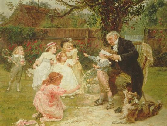 Blind Man's Buff-Frederick Morgan-Giclee Print