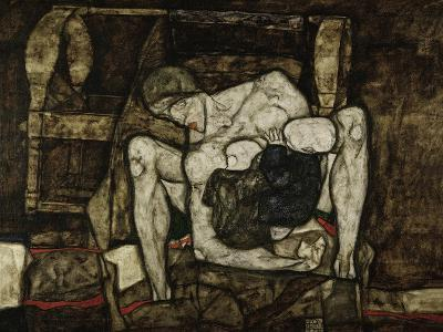 Blind Mother or the Mother, 1914-Egon Schiele-Giclee Print