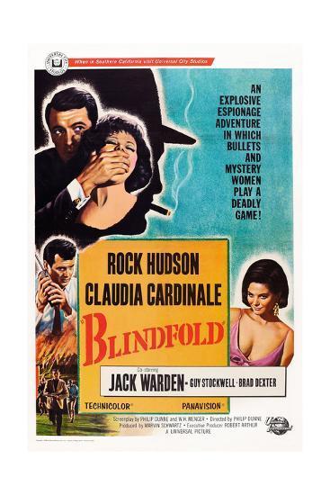 Blindfold--Giclee Print