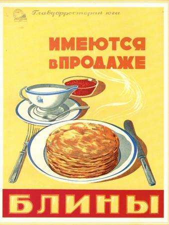 Blini - Pancakes