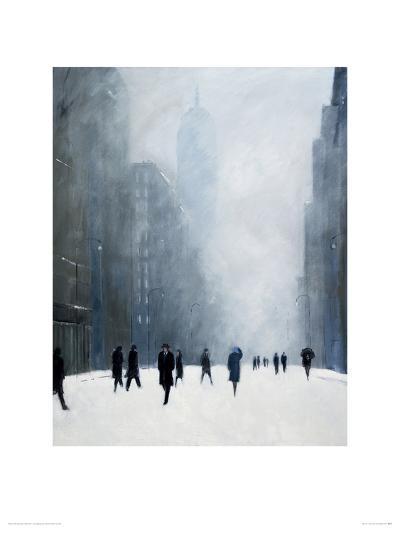 Blizzard - 5th Avenue-Jon Barker-Giclee Print