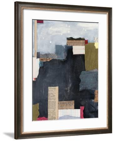 Block Abstract II V2-Courtney Prahl-Framed Art Print