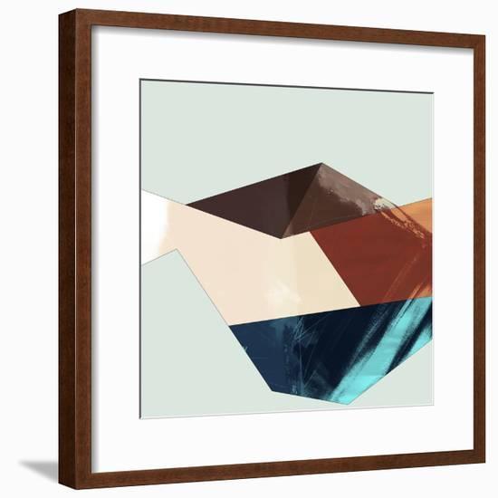 Block Detail II-Sisa Jasper-Framed Art Print