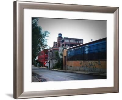Block In Detroit-NaxArt-Framed Art Print